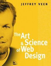 The Art and Science of Web Design by Veen, Jeffrey