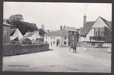 Postcard Kelsale near Saxmundham Suffolk early view of The Village