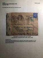 1944 Birmingham England Censored Cover To  Carrickmacross Ireland W Letter