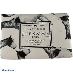 Beekman 1802 Vanilla Absolute Goat Milk Soap 3.5 oz