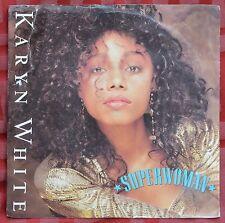 """Karyn White – Superwoman 7"""" – W 2920 – VG"""