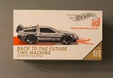 New ListingHot Wheels id Back to the Future Time Machine Limited Run Hw Screen Time