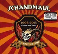 SCHANDMAUL - SO WEIT-SO GUT  (2 CD)  32 TRACKS  DEUTSCH-ROCK & POP  NEU