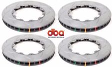 DBA FRONT & REAR SLOTTED BRAKE ROTORS FOR 2009 - 2011 NISSAN GT-R GTR R35