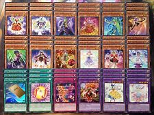 Yugioh Tournament Ready to Play Melodious Diva 54 Card Deck 1st Movement Solo NM