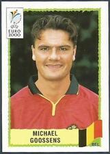 PANINI EURO 2000-BLACK BACKS- #116-BELGIUM-MICHAEL GOOSSENS