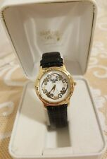 Black Hills Gold Watch Ladies Brand New In Box; Leather Band; Lovely !