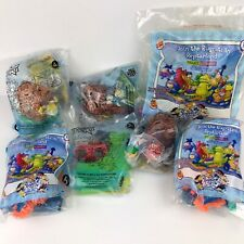 Rugrats Burger King Toys Lot of 7 in Original Packaging 2000