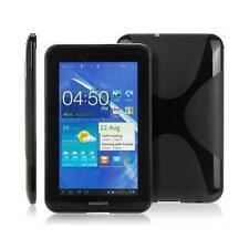 Samsung Galaxy Tab 7.0 Plus P6200 P6240 - Housse Etui Silicone souple noir