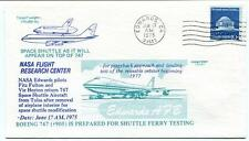 1975 Space Shuttle & Boeing 747 NASA Flight Research Edwards Fulton Horton Test
