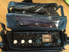 Shure FP-33 Field Audio Mixer plus Porta Brace MX-33 case