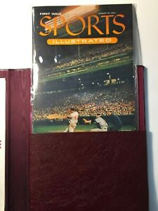 SPORTS ILLUSTRATED - Leather Bound First Edition Gem Mint COA