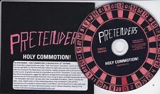 THE PRETENDERS HOLY COMMOTION! RARE 1 TRACK PROMO CD