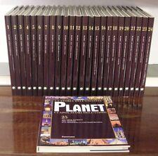 PLANET I CAPOLAVORI DELL UOMO - 25 VOLUMI - Mondadori - Anno 2004