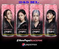 245 ML : PEPSI MAX x BLACKPINK Can Thailand SET of 4 Jisoo Jennie Rose Lisa kpop