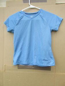 Patagonia Light Blue Capilene Kids XS Shirt
