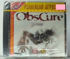 Obscure Video Games jewel case For PC DVD NEW and Sealed