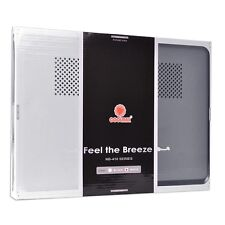 Coolmax NB-410 Notebook Cooler Pad w/2 70mm Fans & 2-Port USB 2.0 Hub - Supports