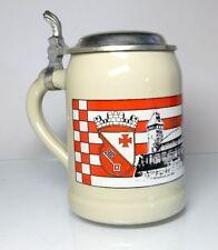 BOCCALE BIRRA TANKARD CON zinn-deckel BREMA Vegesack 1990