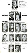 THOMAS LUCHESE 8X10 PHOTO MAFIA ORGANIZED CRIME FAMILY CHART MOBSTER MOB PICTURE