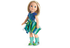 """American Girl WellieWishers Camille Doll 14.5"""" (36.8 cm) - New 100% !"""