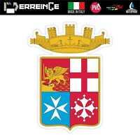Sticker ITALIA MARINA MILITARE Adesivo Decal Laptop Casco Auto Moto Wall Valigia