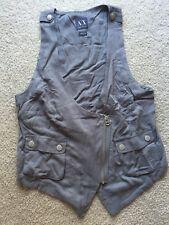 Armani Exchange Vest Casual Jacket Grey Women Size M