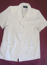Womens Jacket Sag Harbor Short Sleeve Petite 12P