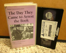 DAY THEY CAME TO ARREST BOOK kids Nat Hentoff freedom of speech VHS censorship