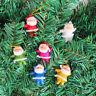Eg _ 6PCS Mini Paillettes Babbo Natale Bambola Albero di Ornamento da Appendere