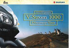Suzuki DL1000 V-Strom 1000 Discovery Tour Brouchure Edelweiss Bike Travel