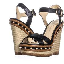 JESSICA SIMPSON AERALIN WEDGE SANDALS SIZE 8.5M US NIB MSRP $110.00