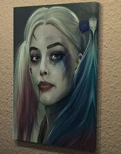 "Box canvas wall art Picture poster Print Margot Robbie Harley Quinn 18""x24 AK254"