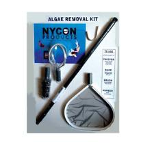 "Nycon AK-01 Chemical Free Algae Removal Tool Kit w/ Telescoping 24""-40"" Handle"