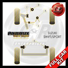 Suzuki Swift - Sport (07-10) Powerflex Black Complete Bush Kit