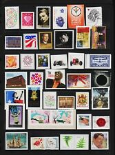 U.S. 40 Different Forever stamps - FACE value $ 22.00