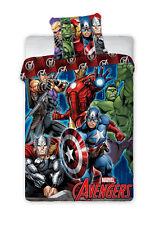 Giocattoli Marvel Avengers Single Cotton Duvet Cover and Pillowcase Set