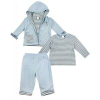 "BABY BOYS "" EX ADAMS"" 3 PIECE LITTLE PUP OUTFIT - GREAT ALL SEASON OUTFIT"
