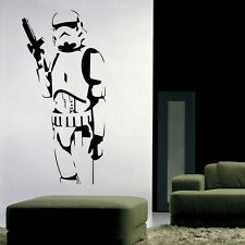 LARGE STAR WARS STORM TROOPER CHILDRENS BEDROOM WALL MURAL STICKER VINYL DECALS