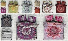 5 PC Wholesale Lot Indian Cotton Duvet Cover Doona Cover Handmade Quilt Cover