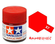 TAMIYA COLOR X-7 Red MODEL KIT ACRYLIC PAINT 10ml Free Shipping New In Stock