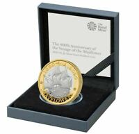 2020 MAYFLOWER £2 Silver Proof Coin