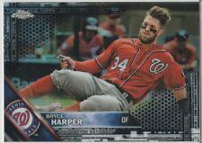BRYCE HARPER 2016 TOPPS CHROME REFRACTOR Baseball Washington Nationals MINT!