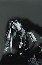 Ian McCullough, Echo And The Bunnymen, Paradiso, Amsterdam, 1980 - signed verso