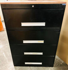 New listing Metal Four Drawer Lateral File Cabinet With Wooden Top