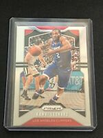 2019-20 Panini Chronicles Prizm Update Kawhi Leonard Centered #505 Clippers SP