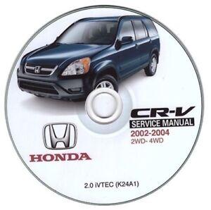 Honda Cr-V (2002-2004) Manual de Taller Workshop Manual