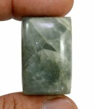 EPIC STONE-97 Ct Rare Natural Green Aquamarine- Fancy Cabochon Gemstone- Loose