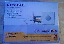 New - NETGEAR WN311B-100NAS N300 Wireless Adapter IEEE 802.11b/g/n PCI WPA2