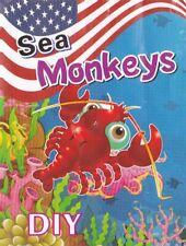 Sea Monkeys Marine Monkey living Pet New with sea salt & instructions U.K SELLER